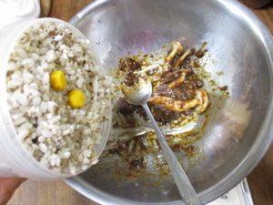 穀食レシピの仕込み②