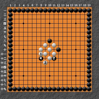 19路詰碁 問題⑥ 正解2