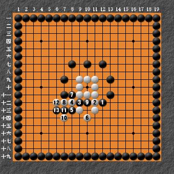 19路詰碁 問題② 変化図④