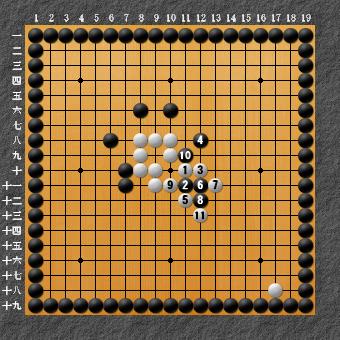 19路詰碁 問題④ 回答3