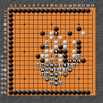 19路詰碁 問題⑧ 回答12
