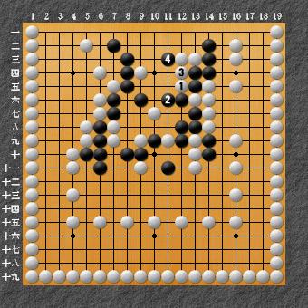 19路詰碁 問題⑨ 追記1