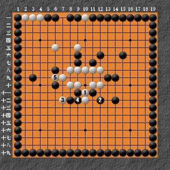 19路詰碁 問題⑦ 回答4
