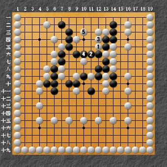 19路詰碁 問題⑨ 正解2