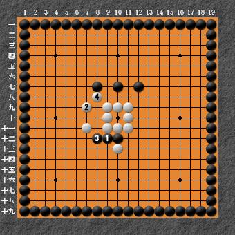 19路詰碁超難問 変化図3