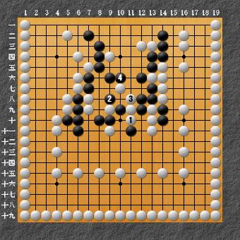 19路詰碁 問題⑨ さらに別の答え2