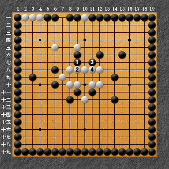 19路詰碁 問題⑦ 回答1