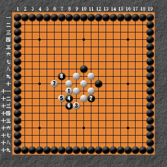 19路詰碁 問題⑥ 正解3