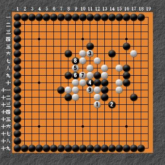 19路詰碁 問題⑧ 回答7