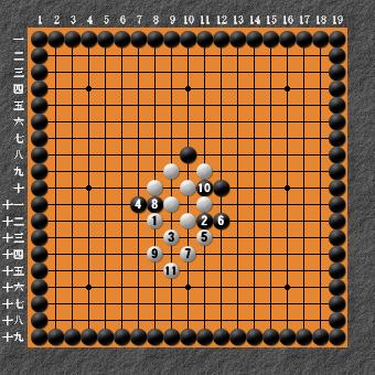 19路詰碁 問題⑥ 回答4