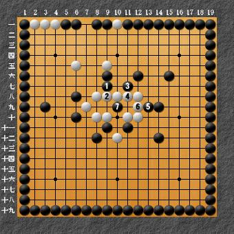 19路詰碁 問題⑦ 回答2