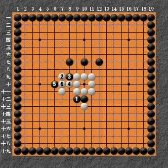 19路詰碁超難問 変化図6