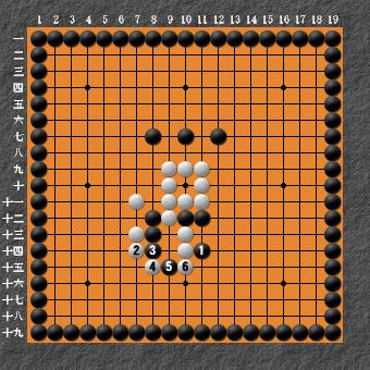 19路詰碁超難問 変化図2