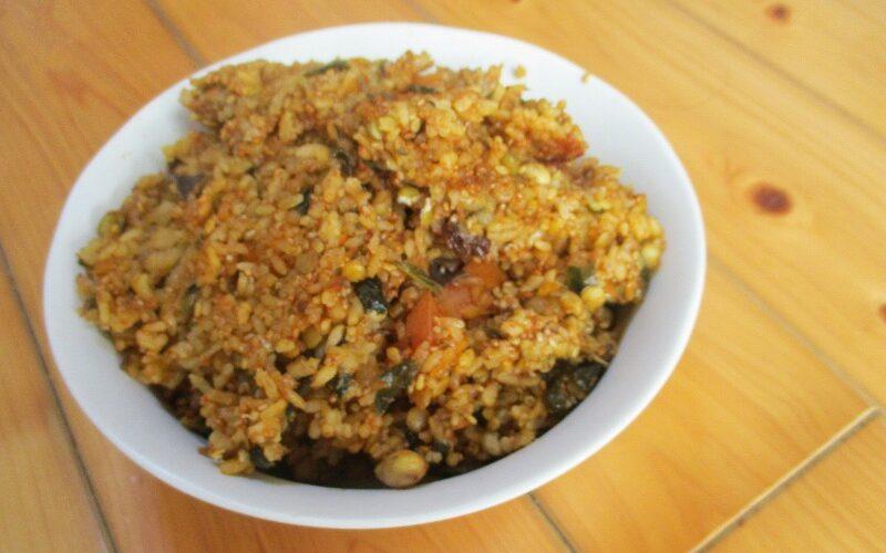 テレパシーから教わった伝説のレシピの特徴|完全穀食カレー丼「賢者の石」①🍛🍚