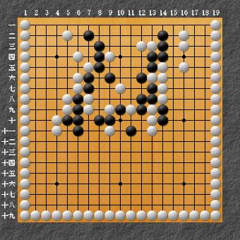 19路詰碁 問題⑨ 本来の問題1