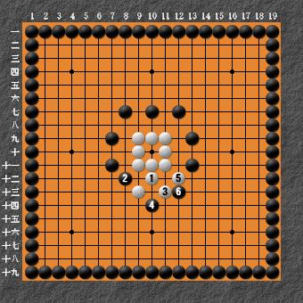 19路詰碁 問題② 変化図⑨