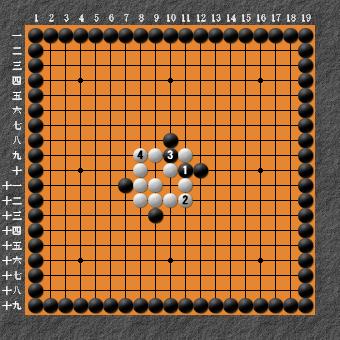 19路詰碁 問題⑥ 回答3