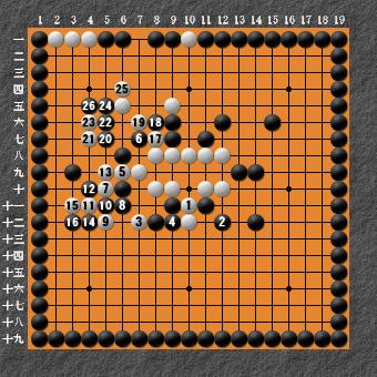 19路詰碁 問題⑦ 回答7