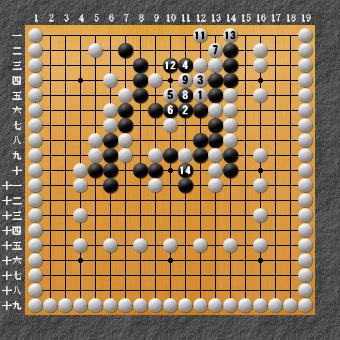 19路詰碁 問題⑨ 追記2