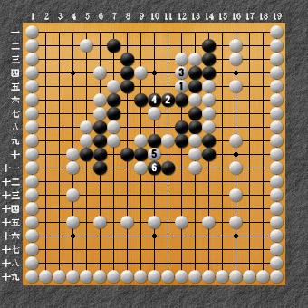 19路詰碁 問題⑨ 正解3