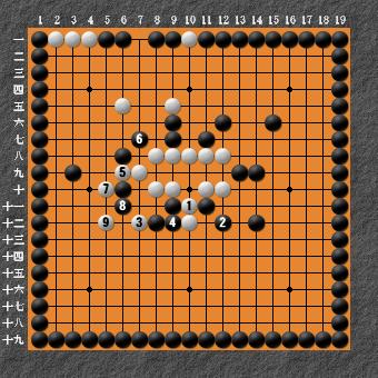 19路詰碁 問題⑦ 回答5