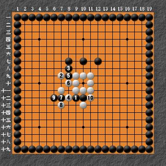 19路詰碁超難問 変化図4
