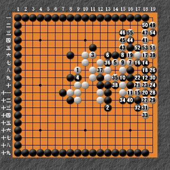 19路詰碁 問題⑧ 回答15