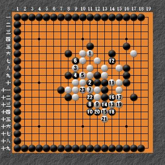 19路詰碁 問題⑧ 回答5