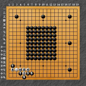 六死七生 変化図1-1