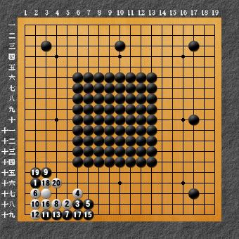 六死七生 変化図2ー1