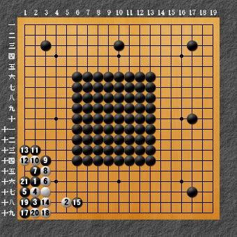 六死七生 変化図3ー1