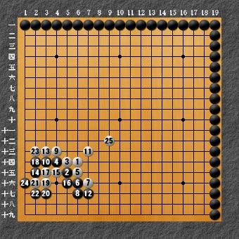 囲碁ひも理論 変化図2-2