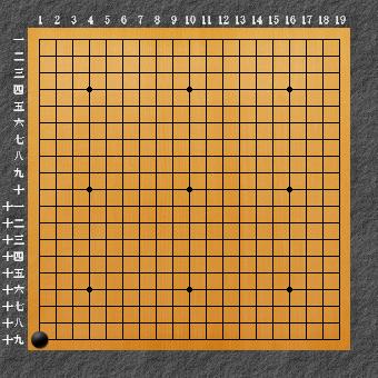 囲碁ひも理論2 左下一の一