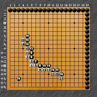 囲碁ひも理論 回答図1