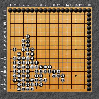 囲碁ひも理論 回答図1-3